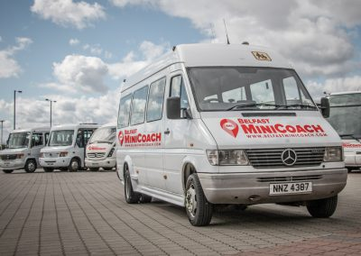 Belfast Mini Coach Fleet